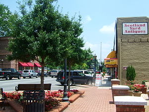 Downtown Lawrenceville (as of June 2006)