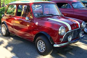 1963 Austin Mini Cooper S. 1275 cc bored to 13...