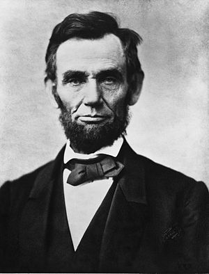 Abraham Lincoln, the sixteenth President of th...