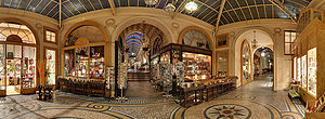 Vivienne galleria, in the 2nd arrondissement o...