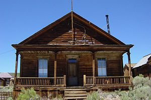 Photo taken in Bodie, California. See file name.