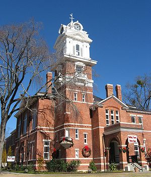 English: Gwinnett County Historic Courthouse, ...