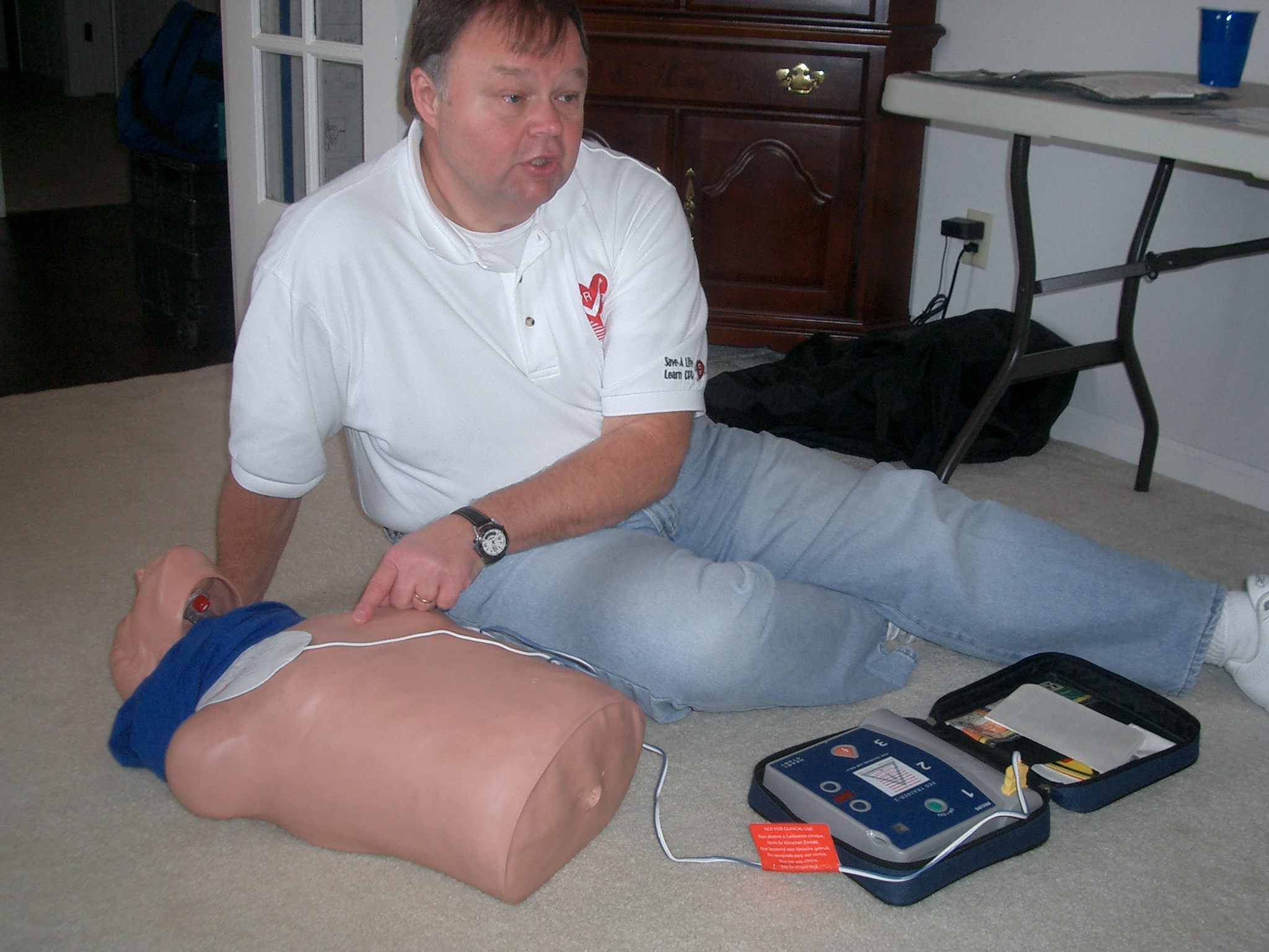AED instruction