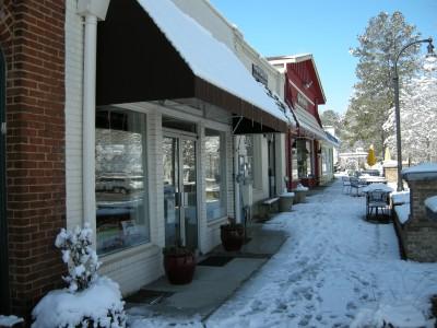 Snow in Lilburn